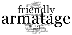 armatage word cloud