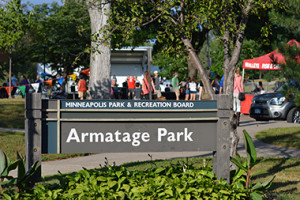 Armatage park sign