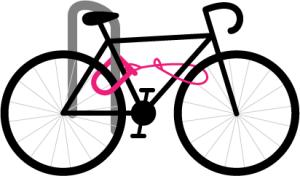 properly locked bike